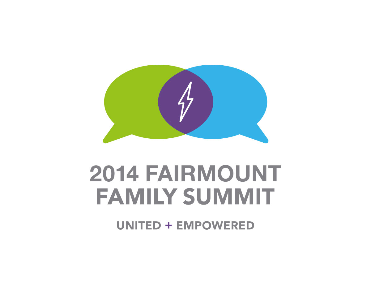 Fairmount Family Summit Logo by Blue Flame Thinking