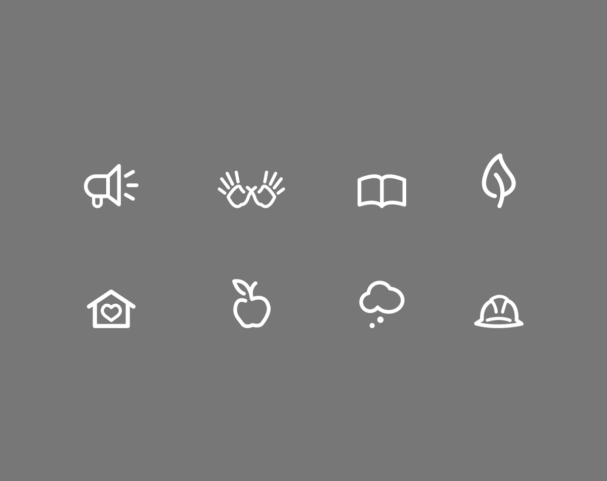 Fairmount Family Summit Icons by Blue Flame Thinking
