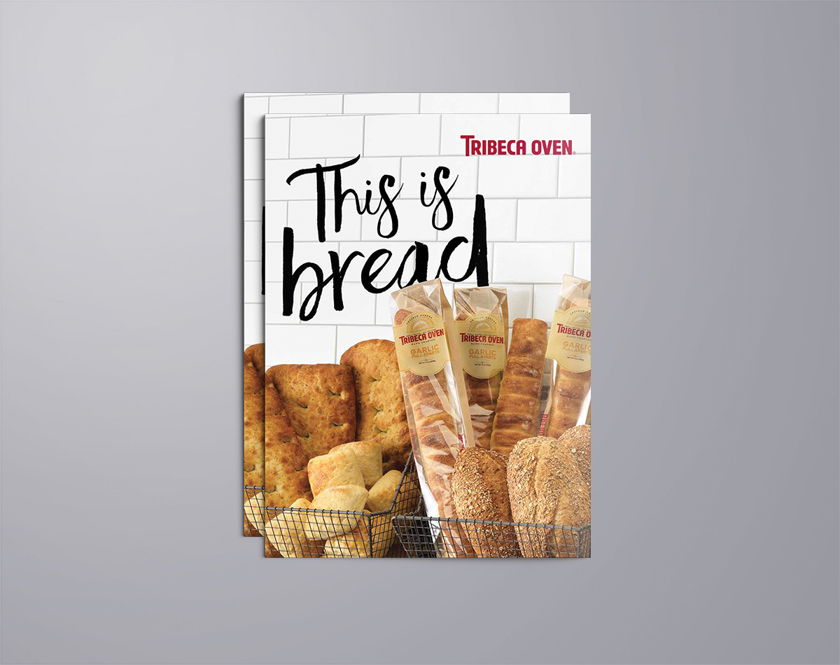 Tribeca Oven Brochure Cover by Blue Flame Thinking