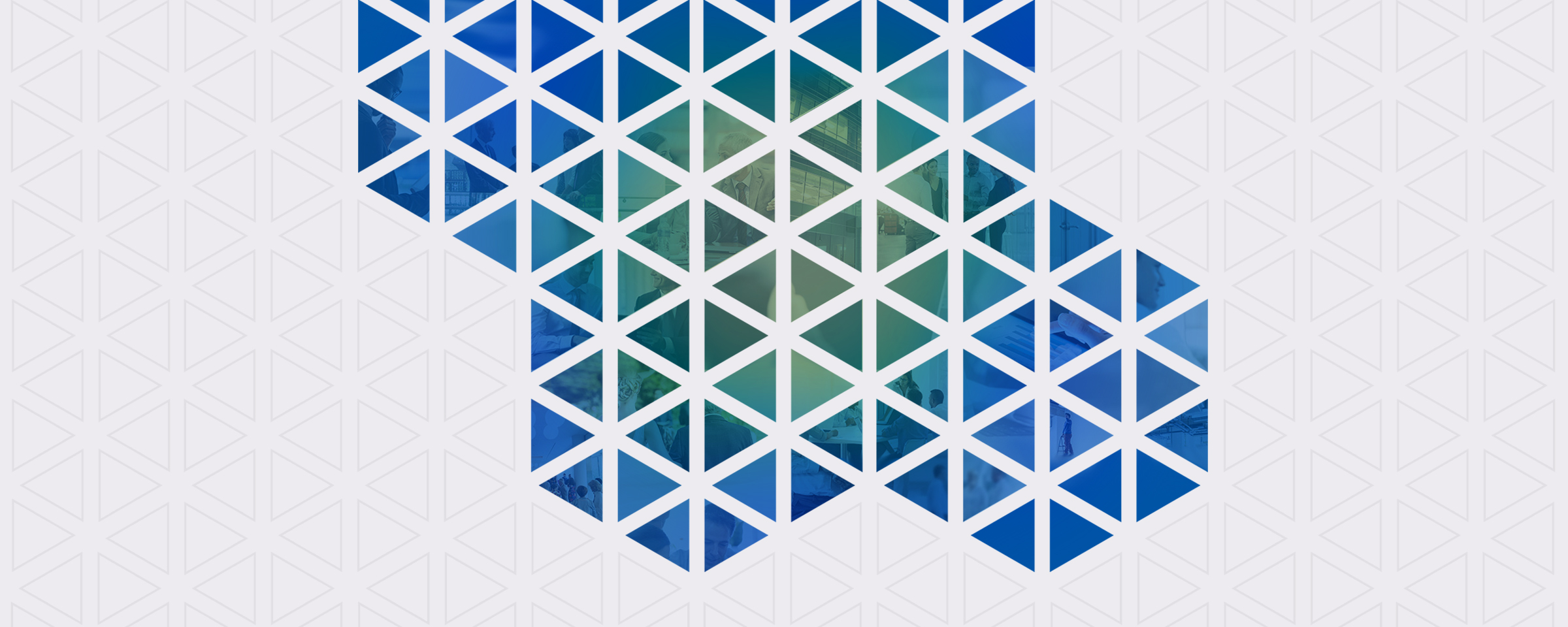 The Colony Group Website and Messaging Honeycomb Pattern Banner By Blue Flame Thinking