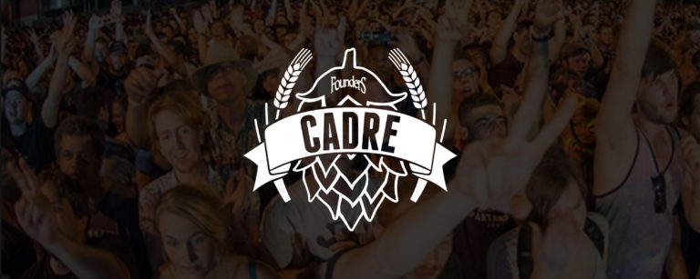 Banner for Founders Brewing's Cadre marketing automation system by Blue Flame Thinking.