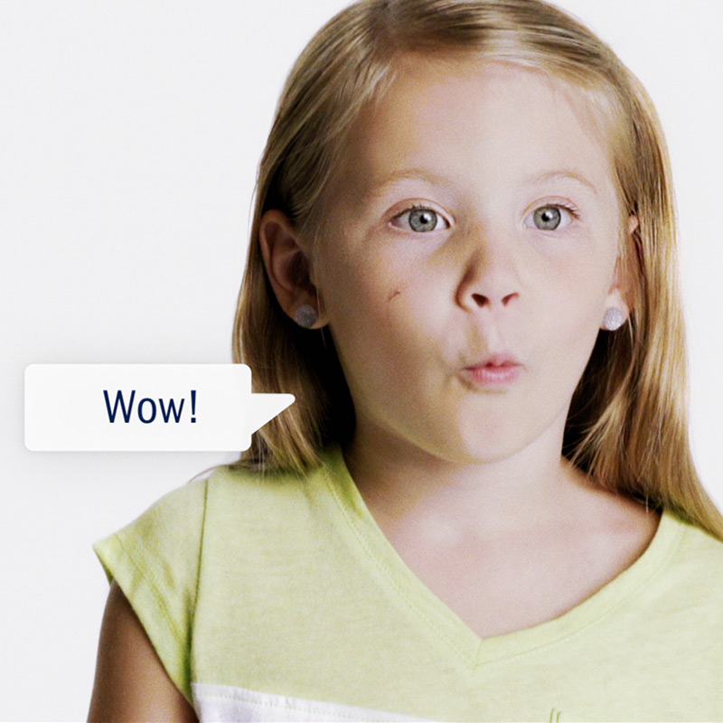 Amway Child's Play image of child saying Wow!