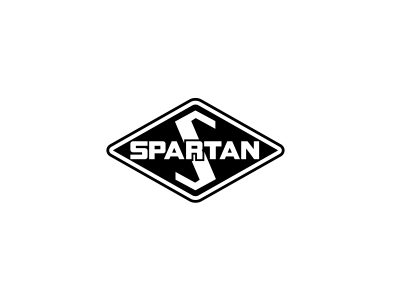 Spartan Motors Logo, Blue Flame Thinking Client