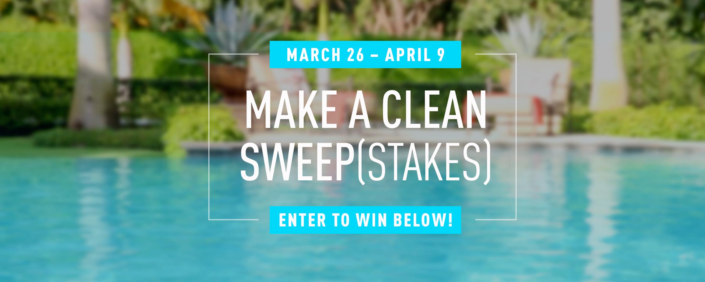 Make a Clean Sweep(stakes)