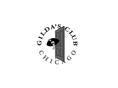 Gilda's Club logo, Blue Flame Thinking client
