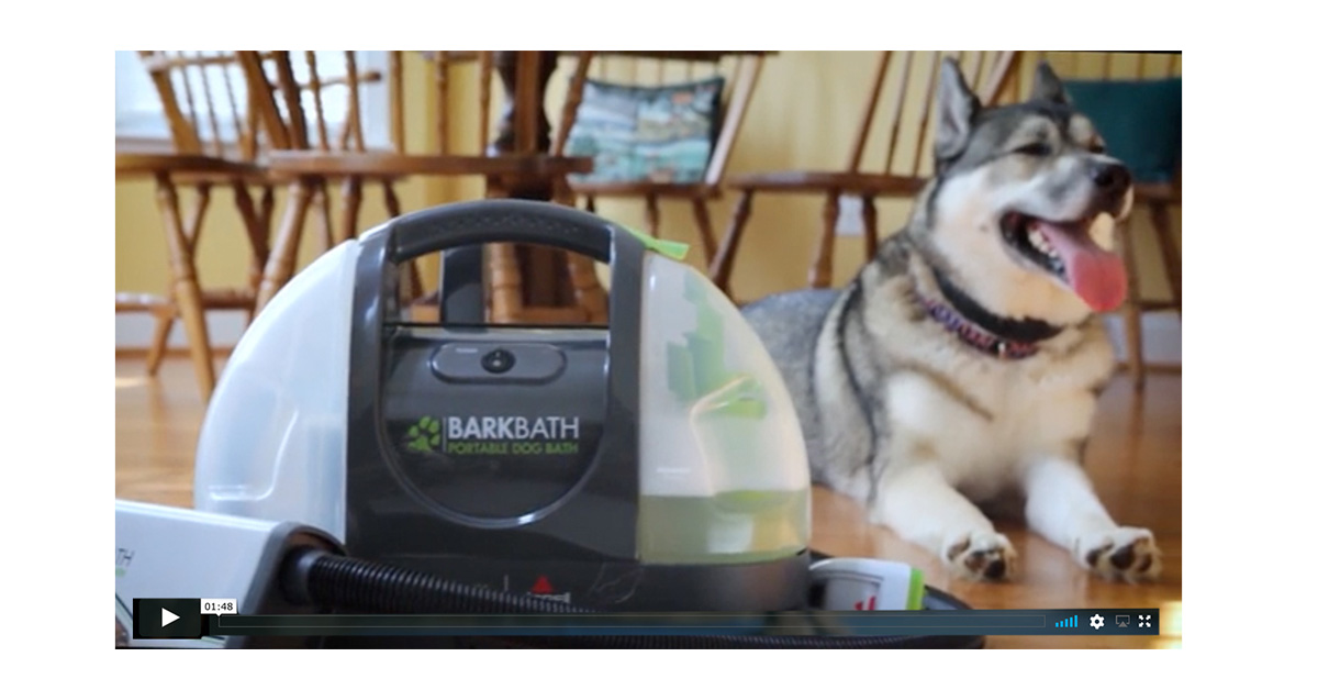 BISSELL BARKBATH™ Video thumbnail by Blue Flame Thinking