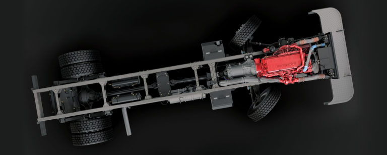 picture of truck frame