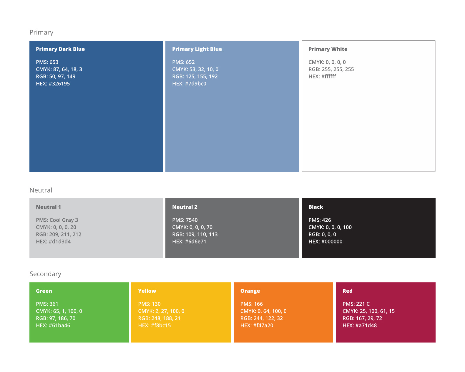 Advisor Group Brand Colors by Blue Flame Thinking