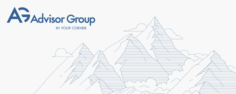 Advisor Group Branding Work Header by Blue Flame Thinking